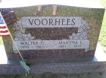 VOORHEES, MARTHA L. - Ross County, Ohio   MARTHA L. VOORHEES - Ohio Gravestone Photos