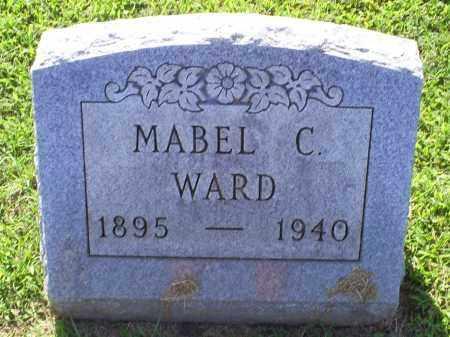 WARD, MABEL C. - Ross County, Ohio | MABEL C. WARD - Ohio Gravestone Photos