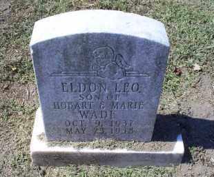 WADE, ELDON LEO - Ross County, Ohio | ELDON LEO WADE - Ohio Gravestone Photos