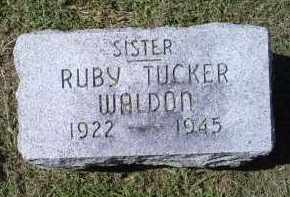 WALDON, RUBY - Ross County, Ohio   RUBY WALDON - Ohio Gravestone Photos