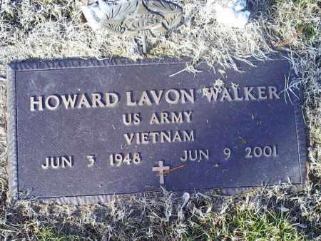 WALKER, HOWARD LAVON - Ross County, Ohio   HOWARD LAVON WALKER - Ohio Gravestone Photos