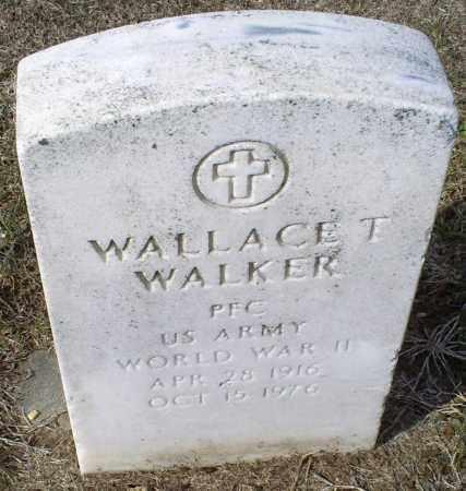WALKER, WALLACE T. - Ross County, Ohio | WALLACE T. WALKER - Ohio Gravestone Photos