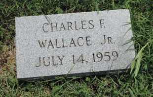 WALLACE, CHARLES F - Ross County, Ohio | CHARLES F WALLACE - Ohio Gravestone Photos