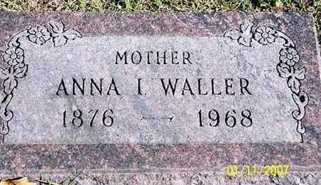 WALLER, ANNA I. - Ross County, Ohio | ANNA I. WALLER - Ohio Gravestone Photos
