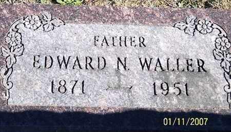WALLER, EDWARD N. - Ross County, Ohio | EDWARD N. WALLER - Ohio Gravestone Photos