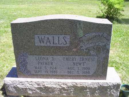 "WALLS, EMERY ERNEST ""NEWT"" - Ross County, Ohio | EMERY ERNEST ""NEWT"" WALLS - Ohio Gravestone Photos"