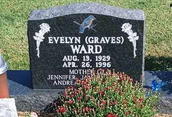 GRAVES WARD, EVELYN - Ross County, Ohio | EVELYN GRAVES WARD - Ohio Gravestone Photos
