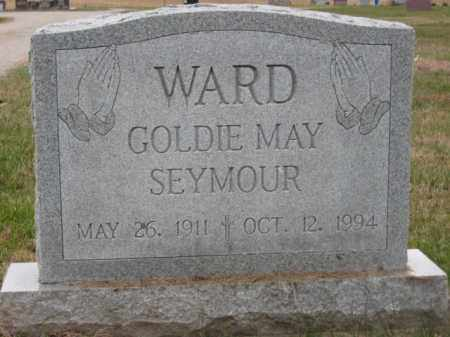 WARD, GOLDIE MAY - Ross County, Ohio | GOLDIE MAY WARD - Ohio Gravestone Photos