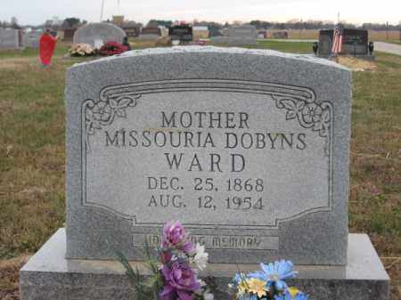 DOBYNS WARD, MISSOURIA - Ross County, Ohio | MISSOURIA DOBYNS WARD - Ohio Gravestone Photos