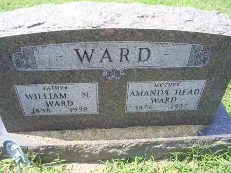 WARD, AMANDA - Ross County, Ohio   AMANDA WARD - Ohio Gravestone Photos