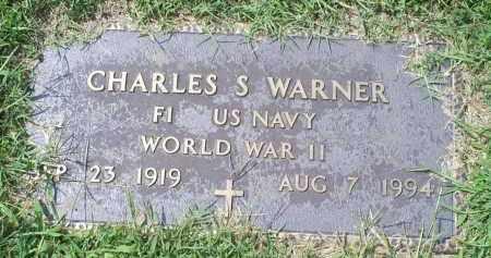 WARNER, CHARLES S. - Ross County, Ohio   CHARLES S. WARNER - Ohio Gravestone Photos