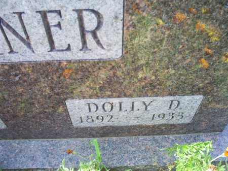 WARNER, DOLLY D. - Ross County, Ohio | DOLLY D. WARNER - Ohio Gravestone Photos