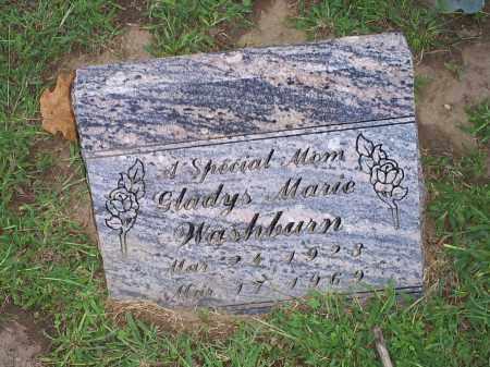WASHBURN, GLADYS MARIE - Ross County, Ohio | GLADYS MARIE WASHBURN - Ohio Gravestone Photos