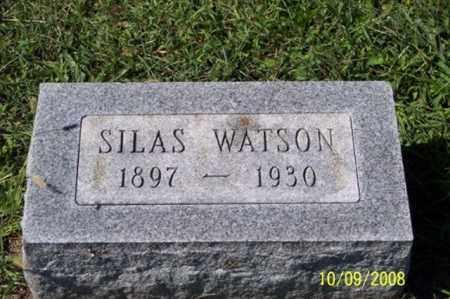 WATSON, SILAS - Ross County, Ohio   SILAS WATSON - Ohio Gravestone Photos