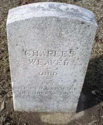 WEAVER, CHARLES - Ross County, Ohio | CHARLES WEAVER - Ohio Gravestone Photos