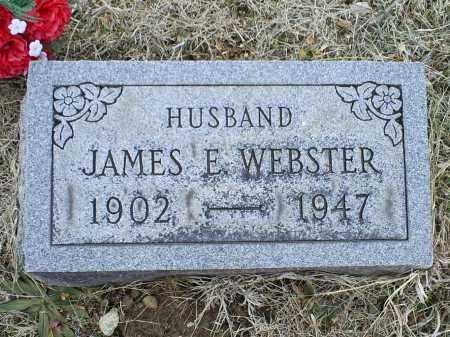 WEBSTER, JAMES E. - Ross County, Ohio   JAMES E. WEBSTER - Ohio Gravestone Photos