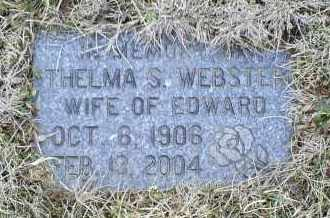 WEBSTER, THELMA S. - Ross County, Ohio | THELMA S. WEBSTER - Ohio Gravestone Photos