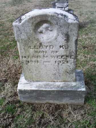 WEESE, LLOYD K. - Ross County, Ohio | LLOYD K. WEESE - Ohio Gravestone Photos