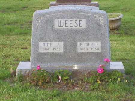 WEESE, NINA FATIMA - Ross County, Ohio | NINA FATIMA WEESE - Ohio Gravestone Photos