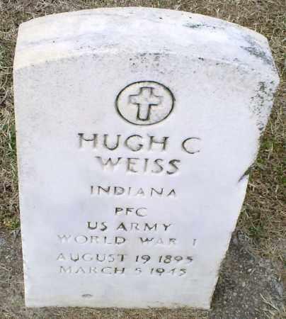 WEISS, HUGH C. - Ross County, Ohio | HUGH C. WEISS - Ohio Gravestone Photos