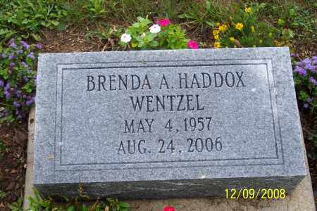 HADDOX WENTZEL, BRENDA A. - Ross County, Ohio   BRENDA A. HADDOX WENTZEL - Ohio Gravestone Photos