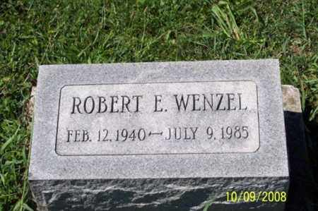 WENZEL, ROBERT E. - Ross County, Ohio | ROBERT E. WENZEL - Ohio Gravestone Photos