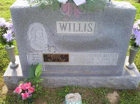 WILLIS, LOTTIE MAE - Ross County, Ohio | LOTTIE MAE WILLIS - Ohio Gravestone Photos