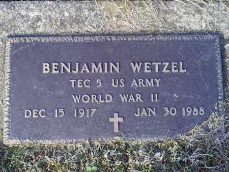 WETZEL, BENJAMIN - Ross County, Ohio | BENJAMIN WETZEL - Ohio Gravestone Photos