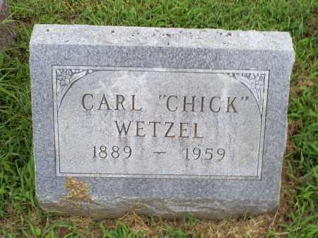 "WETZEL, CARL ""CHICK"" - Ross County, Ohio | CARL ""CHICK"" WETZEL - Ohio Gravestone Photos"