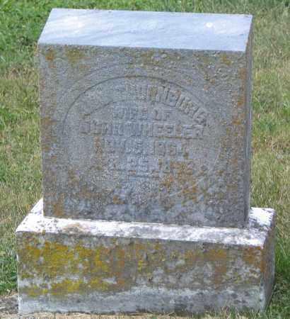 THORNBURG WHEELER, ANNA - Ross County, Ohio | ANNA THORNBURG WHEELER - Ohio Gravestone Photos
