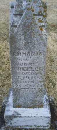 WHEELER, EMMARIA - Ross County, Ohio | EMMARIA WHEELER - Ohio Gravestone Photos