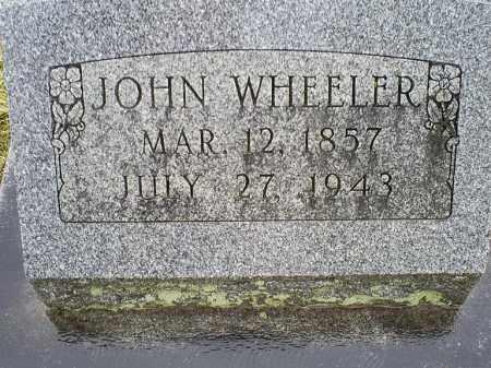 WHEELER, JOHN - Ross County, Ohio   JOHN WHEELER - Ohio Gravestone Photos