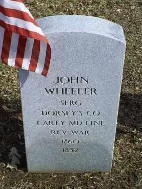 WHEELER, JOHN - Ross County, Ohio | JOHN WHEELER - Ohio Gravestone Photos