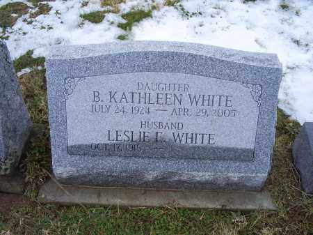 WHITE, B. KATHLEEN - Ross County, Ohio | B. KATHLEEN WHITE - Ohio Gravestone Photos