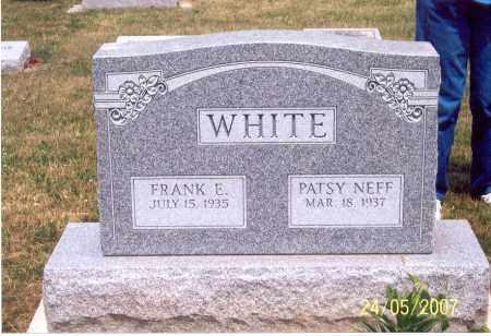 WHITE, PATSY - Ross County, Ohio   PATSY WHITE - Ohio Gravestone Photos