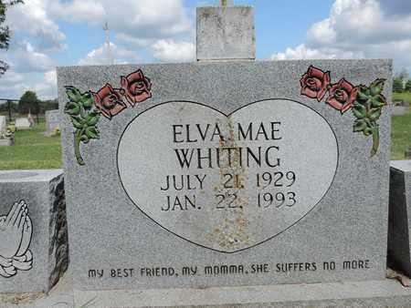 WHITING, ELVA MAE - Ross County, Ohio | ELVA MAE WHITING - Ohio Gravestone Photos