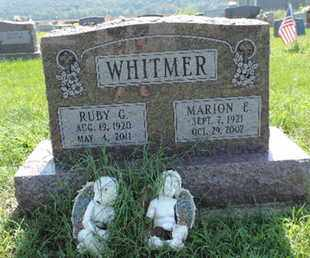 WHITMER, RUBY G - Ross County, Ohio | RUBY G WHITMER - Ohio Gravestone Photos