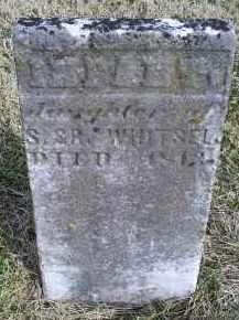 WHITSEL, INFANT - Ross County, Ohio | INFANT WHITSEL - Ohio Gravestone Photos