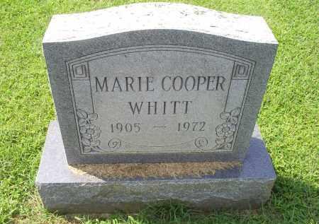 WHITT, MARIE - Ross County, Ohio | MARIE WHITT - Ohio Gravestone Photos