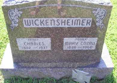 WICKENSHEIMER, MARY - Ross County, Ohio | MARY WICKENSHEIMER - Ohio Gravestone Photos