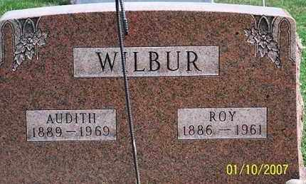 WILBUR, AUDITH - Ross County, Ohio | AUDITH WILBUR - Ohio Gravestone Photos