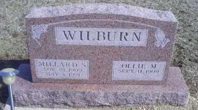 WILBURN, MILLARD S. - Ross County, Ohio   MILLARD S. WILBURN - Ohio Gravestone Photos