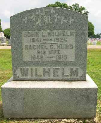 KUNO WILHELM, RACHEL CATHARINE - Ross County, Ohio | RACHEL CATHARINE KUNO WILHELM - Ohio Gravestone Photos