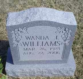 WILLIAMS, WANDA J. - Ross County, Ohio   WANDA J. WILLIAMS - Ohio Gravestone Photos