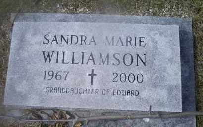 WILLIAMSON, SANDRA MARIE - Ross County, Ohio   SANDRA MARIE WILLIAMSON - Ohio Gravestone Photos