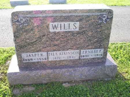 WILLS, ERNEST E. - Ross County, Ohio | ERNEST E. WILLS - Ohio Gravestone Photos