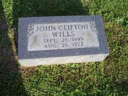 WILLS, JOHN CLIFTON - Ross County, Ohio | JOHN CLIFTON WILLS - Ohio Gravestone Photos
