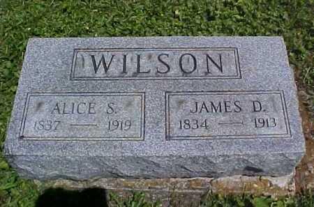 WILSON, JAMES D - Ross County, Ohio | JAMES D WILSON - Ohio Gravestone Photos