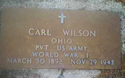 WILSON, CARL - Ross County, Ohio | CARL WILSON - Ohio Gravestone Photos
