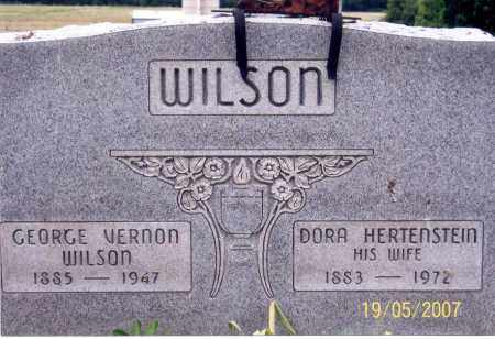 WILSON, GEORGE VERNON - Ross County, Ohio | GEORGE VERNON WILSON - Ohio Gravestone Photos